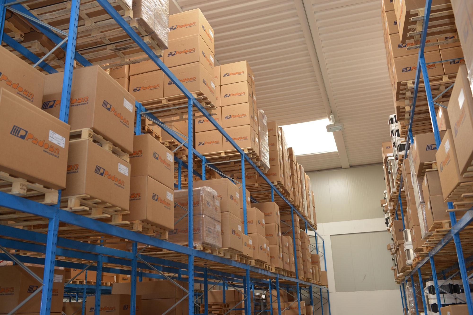 Actual warehouse