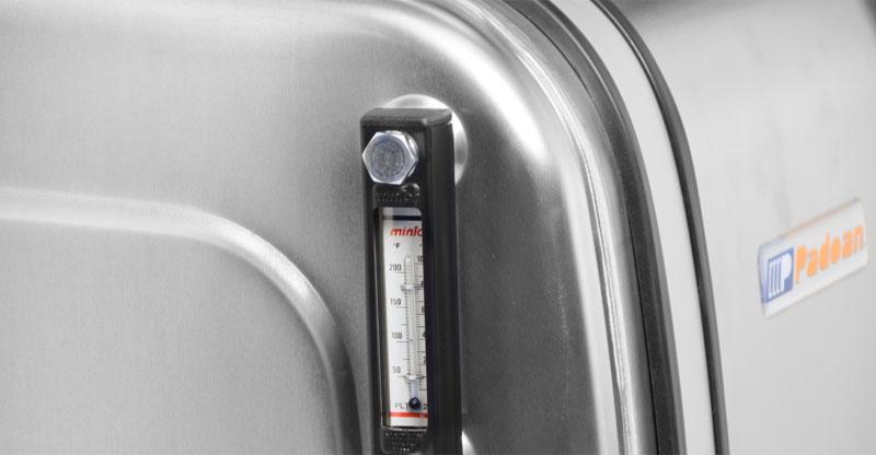 Sight temperature gauge